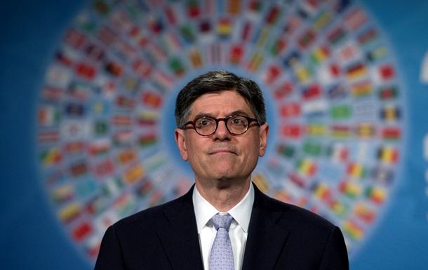Глава минфина США поддержал Киев в споре с кредиторами