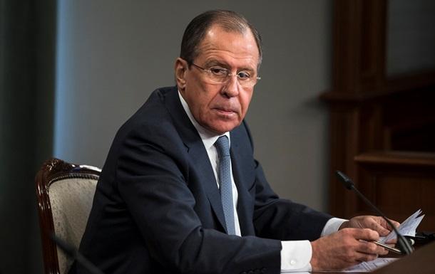 Лавров сумнівається, що Україну приймуть до ЄС і НАТО