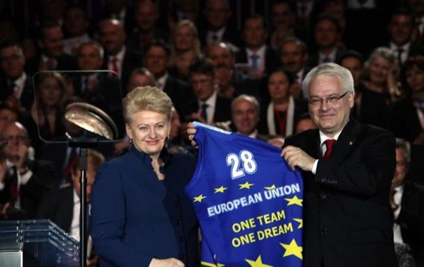 Добро пожаловать в Европу
