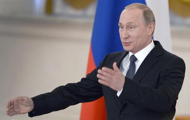 Путін назвав рішення України  оголошенням про фактичний дефолт