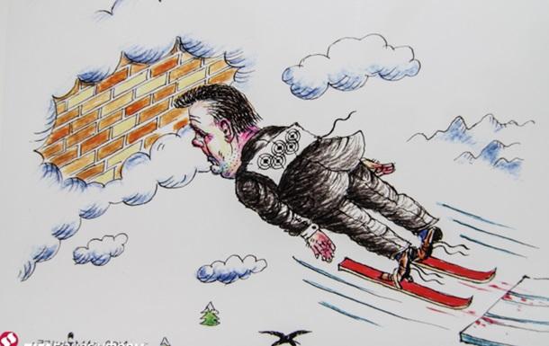 Янукович, Обама, Путин и Крым: выставка политической карикатуры на Подоле