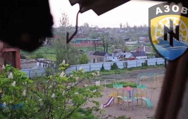 Азов  опублікував свіже відео боїв у Широкиному