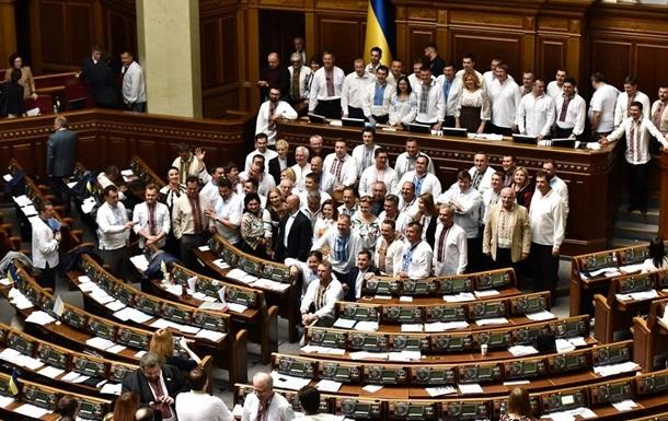 Рада провалила голосование законопроекта по валютным кредитам