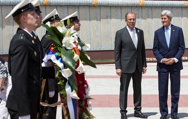 Керрі і Лавров обговорили ситуацію на Донбасі