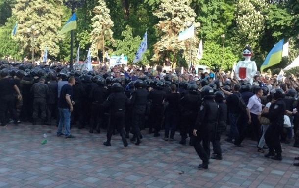 Из-за столкновений под Радой были задержаны трое активистов