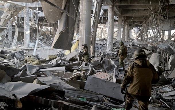 В Донецком аэропорту найдены несколько тел украинских военных