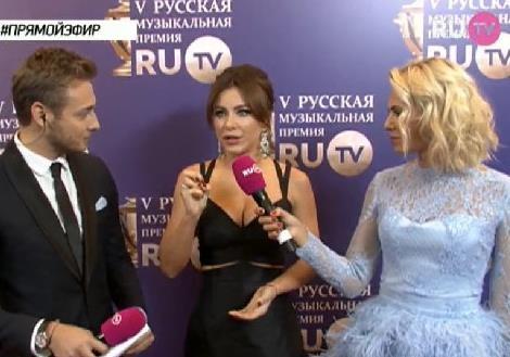 Лорак стала лучшей певицей по версии RU.TV