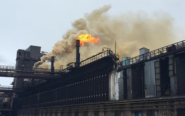 Авдеевский коксохимический завод остановлен после обстрелов