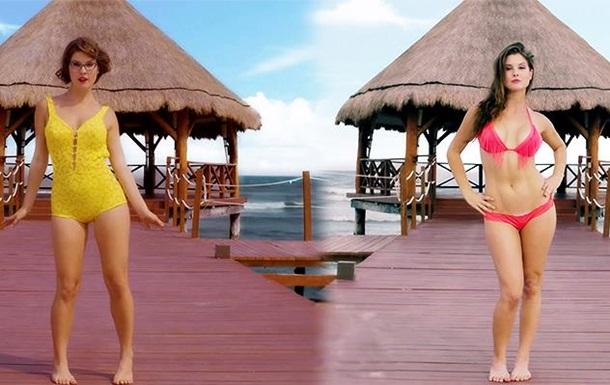 Блогер показала еволюцію жіночих купальників за останні 125 років