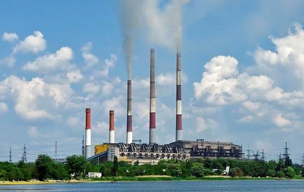 Змиевская тепловая электростанция приостановила работу