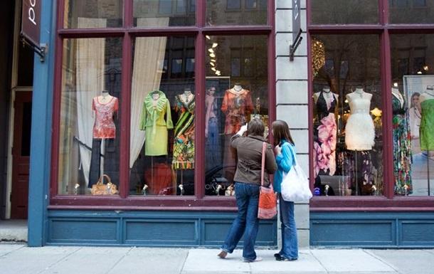 Украинцы перестали заниматься шоппингом