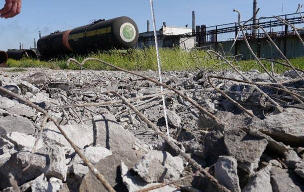 Штаб АТО: Обстріли Авдіївського коксохіму призвели до витоку хімікатів