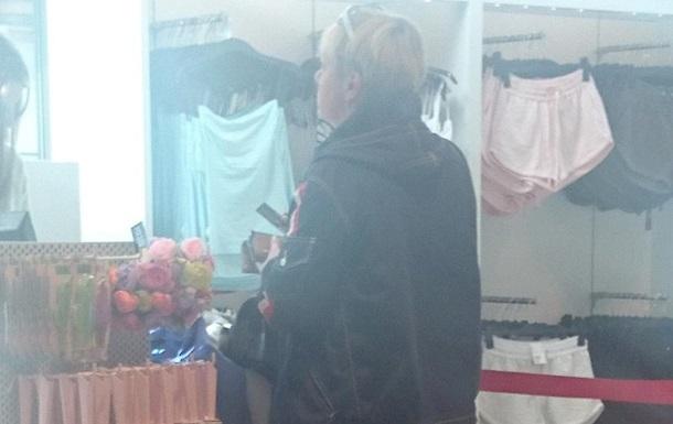 Гонтарева в Риге сходила на шопинг