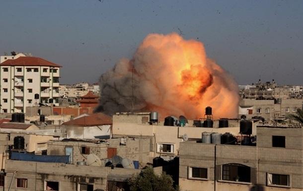 Израиль нанес серию ударов по сектору Газа