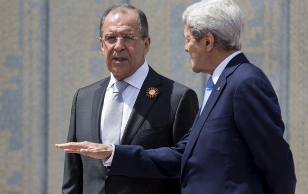 Лавров і Керрі обговорили питання врегулювання кризи в Україні