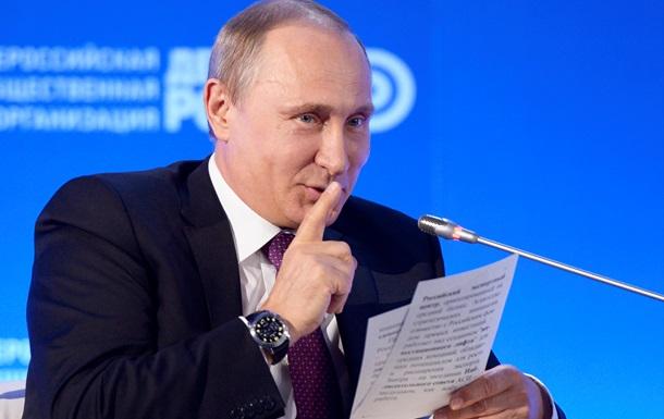 Путин изначально не планировал отбирать Крым - Le Monde