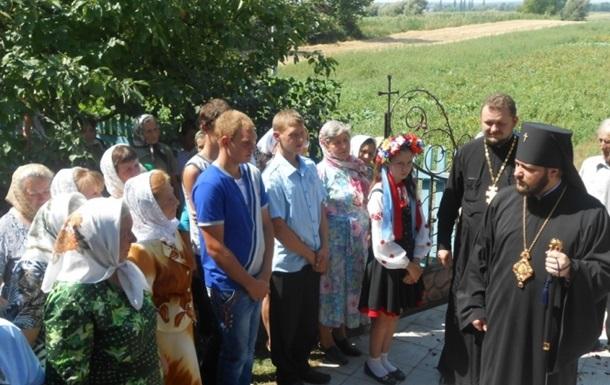 Православні із Рівненської області просять захисту у Порошенка