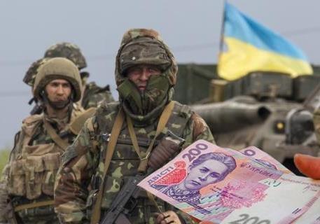 Чтобы не выплачивать долги по зарплате, украинских военных объявляют дезертирами