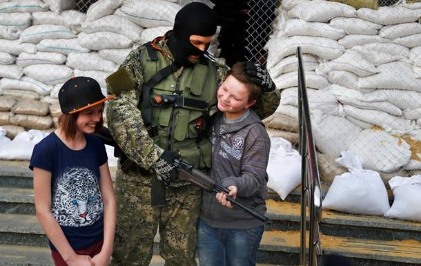 ОБСЄ: Блокпост сепаратистів у Макіївці охороняє дитина 12-14 років
