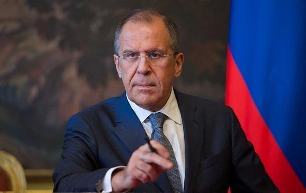 Лавров заявив про прагнення Порошенка виконувати мінські угоди