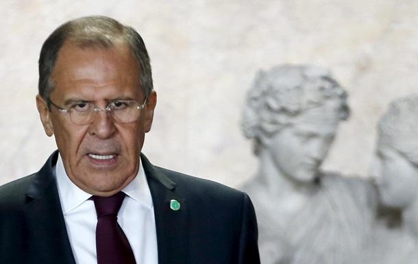 Лавров заявив про російський план щодо демілітаризації Широкиного