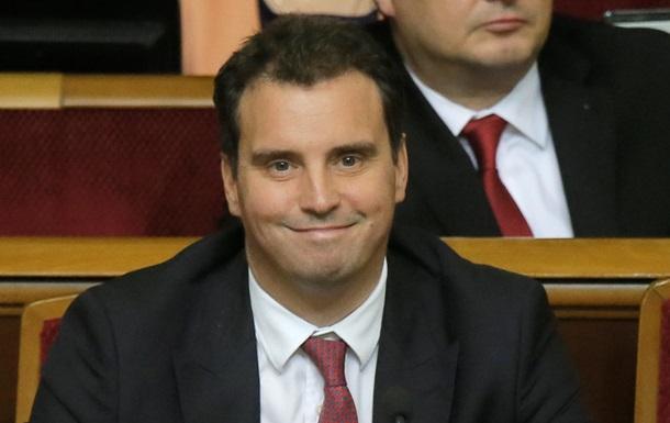 Абромавичус приветствует назначение Саакашвили губернатором