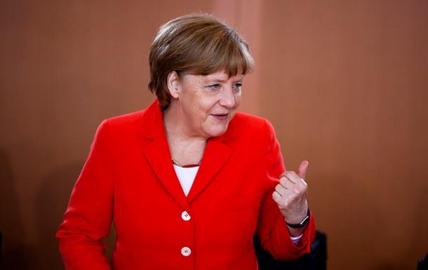 Меркель поддерживает идею создания зоны свободной торговли между ЕС и США