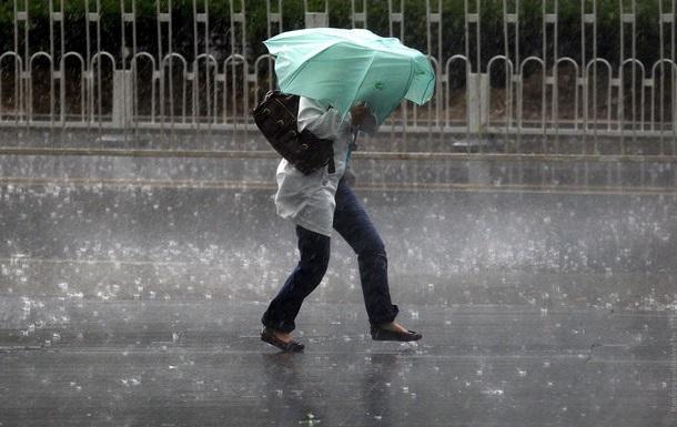 По Україні оголошено штормове попередження