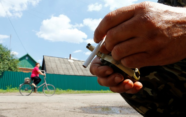 В Станице Луганской трое мирных жителей подорвались на растяжке