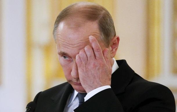 Путин перестал говорить о  Новороссии  - Wall Street Journal