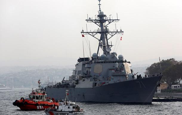 ВМС США: Відхід есмінця від російських кордонів у Чорному морі був запланов