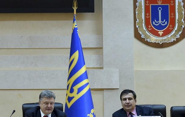Саакашвили опроверг назначение замом экс-министра транспорта Червоненко