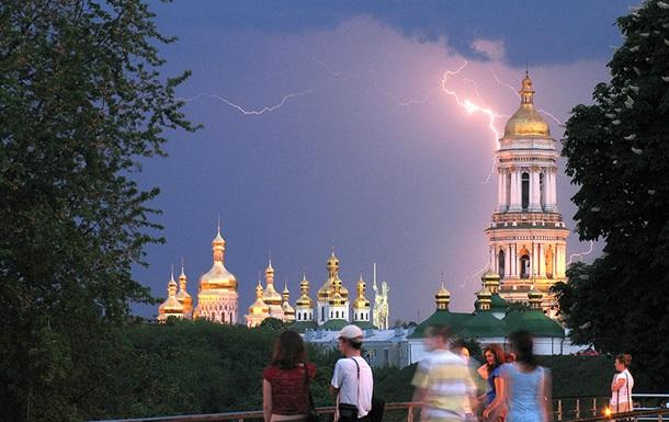 Киевлянам завтра рекомендуют не выходить на улицу из-за непогоды