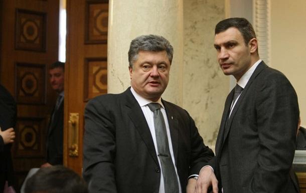 Порошенко рассказал о тайном соглашении с Кличко