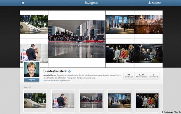 Профиль Меркель в Instagram атаковали русскоязычные тролли
