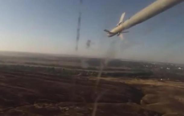 В Сети появилось видео с вертолета, сбитого на Донбассе