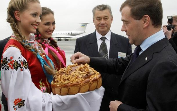 Медведев хочет заменить всю украинскую соль российской