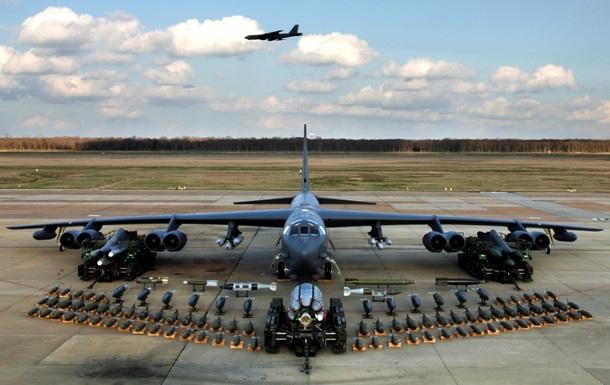 США перебросили в Европу три бомбардировщика