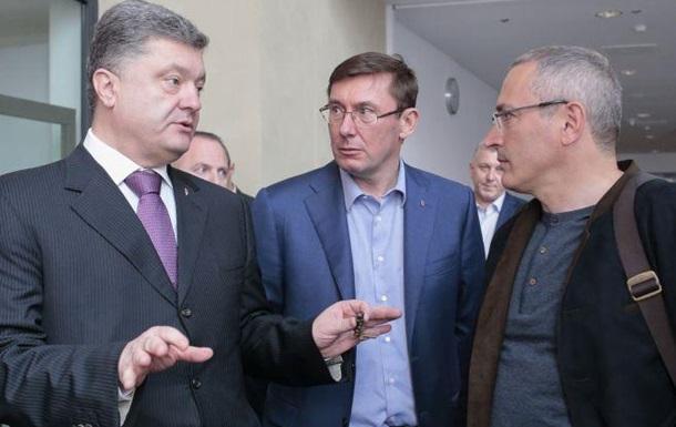 Половецкая область . Луценко & Ходорковский.
