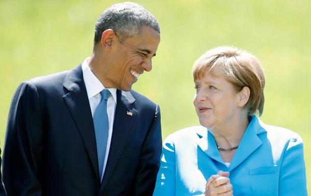 Обама и Меркель связали санкции против России с минскими соглашениями