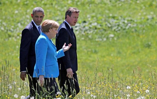 Меркель: Невозможно пока вернуть Россию в состав G8