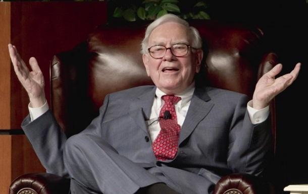 Обед с Уорреном Баффетом продан за 2,35 миллиона долларов