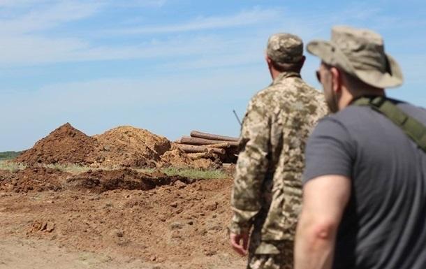 Губернатор Донецкой области объяснил задержку постройки фортификаций