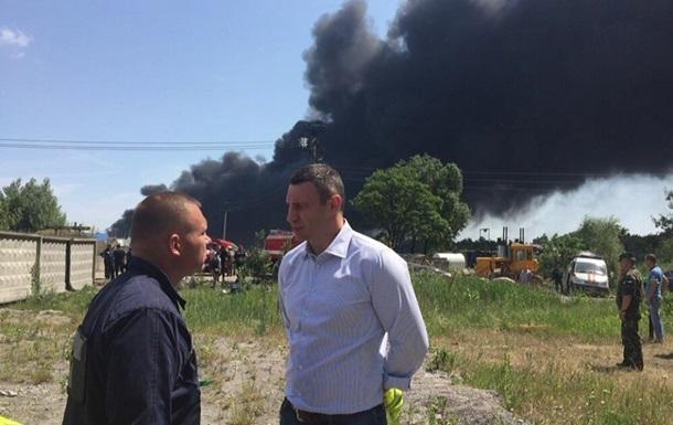 Кличко поручил проверить в Киеве все АЗС и нефтебазы