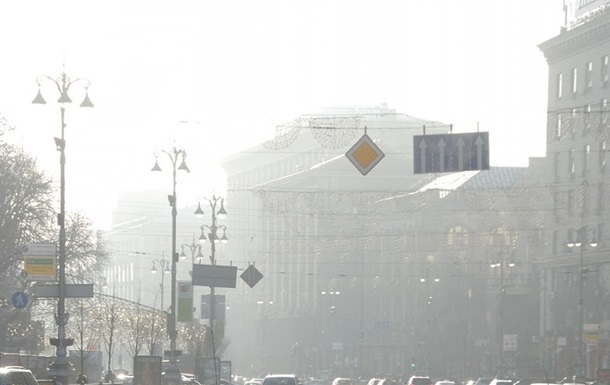 Кличко: Концентрация опасных веществ в воздухе Киева превышает норму