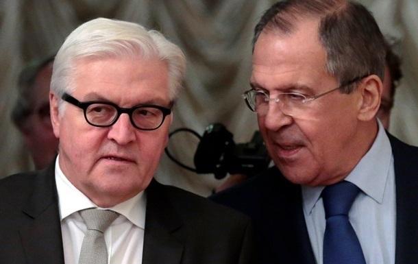 Лавров – Штайнмайеру: Киев уклоняется от диалога с Донбассом
