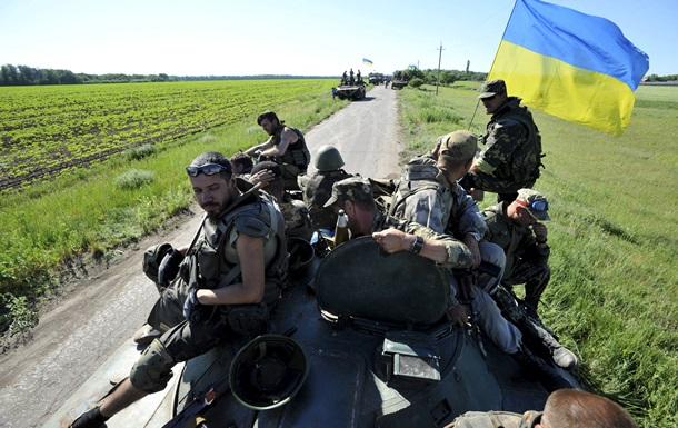 Донбасс обстреливают из танков и минометов. Карта АТО за 12 июня
