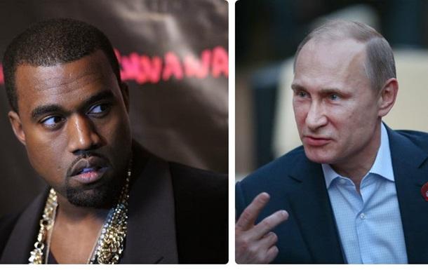 Huffington Post сравнил Путина и Канье Уэста