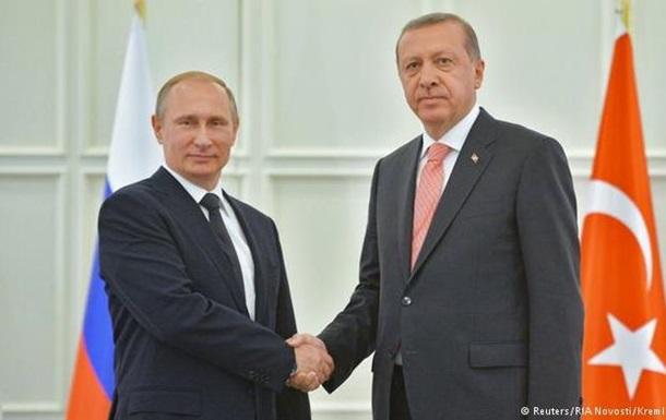 Путин обсудил с Эрдоганом  Турецкий поток