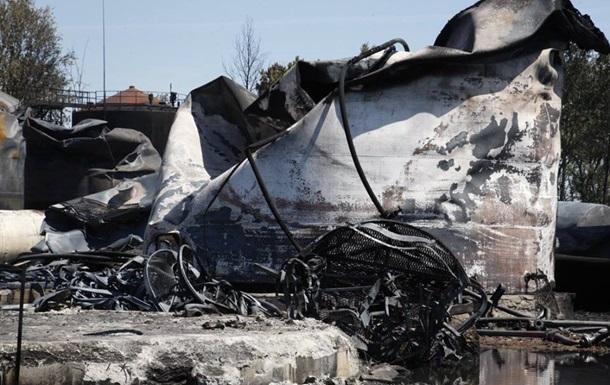 На тушение пожара под Васильковым нужно 50 миллионов гривен